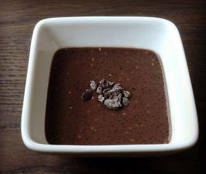 Recette Pouding au chia et chocolat