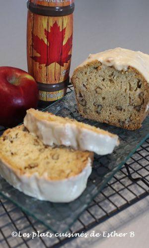 Recette Pain aux noix, pommes et érable