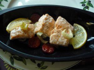 Recette Papillote de saumon
