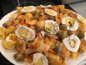 Recette Morue aux Pommes de Terres / Bacalhau com Batatas