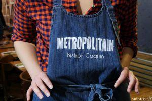 Recette Metropolitain, bistrot dans le Marais