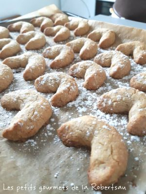 Recette Vanillekipferl, croissants à la vanille
