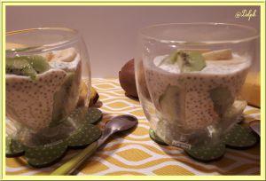 Recette Pudding de Chia au lait de Soja