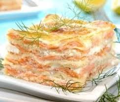 Recette Lasagnes au saumon