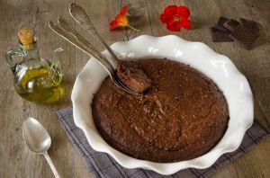 Recette Fondant chocolat, amandes et huile d'olive