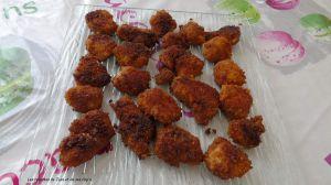 Recette Nuggets épicées au poulet