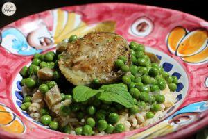 Recette Artichauts farcis, recette vegan