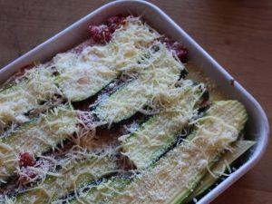 Recette Lasagnes aux courgettes
