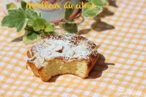 Recette ^^Moelleux au citron^^