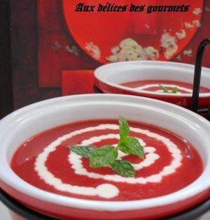 Recette Soupe aux betteraves