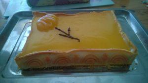 Recette Entremet abricots