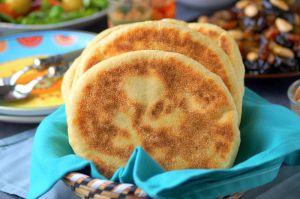 Recette Matlouh pain algérien moelleux à la crème fraîche