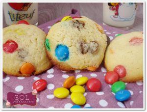 Recette Cookies aux m&m's - Cookies de m&m's