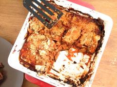 Recette Lasagnes d'aubergines #sans gluten et vegan