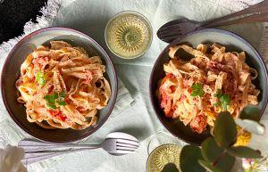 Recette Baked Feta Pasta | La recette de pâtes feta qui fait le buzz