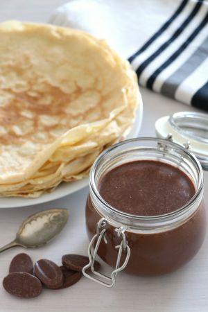 Recette Pâte à tartiner chocolat et noisettes