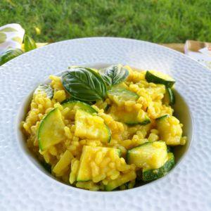 Recette Risotto aux courgettes et curry (au robot cuiseur)