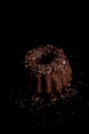 Recette Petits moelleux au chocolat et ganache