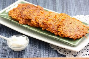 Recette Latkes (repas parve), râpés de pommes de terre (cuisine juive, Hanouka)