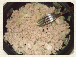 Recette Pâtes sauce thon/boursin