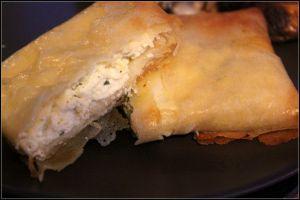 Recette Bricks au fromage frais