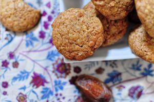 Recette Biscuits aux dattes