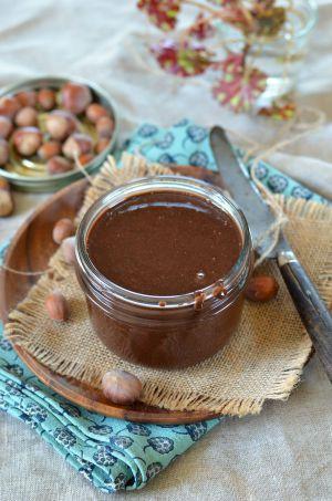 Recette Pâte à tartiner maison chocolat noisette