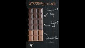 Recette Tablette de chocolat à ma façon {chocolat mania}