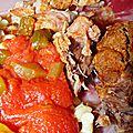 Recette Rouelle de porc mijotée à la provençale
