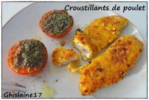 Recette Croustillants de poulet