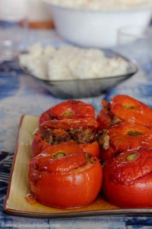 Recette ? Juste des tomates farcies…  ?
