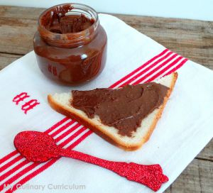 Recette Pâte à tartiner chocolat noisettes maison au Cook Expert (Hazelnut and Chocolate Spread with Cook Expert)