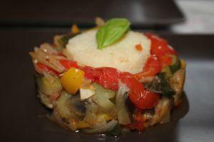 Recette Ratatouille au cookeo