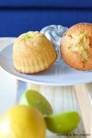 Recette Muffins citrons vert et noix de coco
