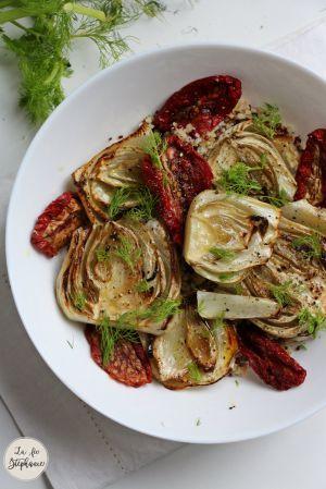 Recette Salade de fenouils aux tomates séchées