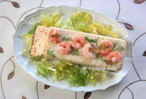 Recette Terrine de crevettes et saumon fumé