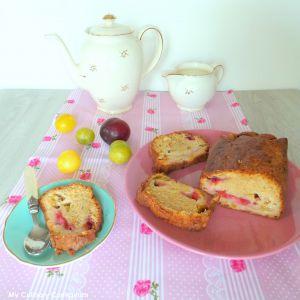 Recette Cake aux prunes (Plum cake)