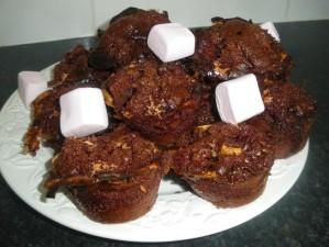 Recette Muffins Chocolat Chamalows
