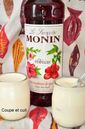 Recette Yaourts maison au lait de soja et à l'hibiscus
