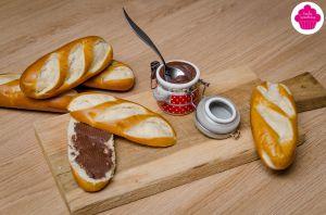 Recette Pâte à tartiner maison accompagnée de Moricettes® - Noël praliné