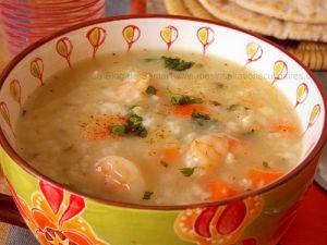 Recette Soupes de crevettes