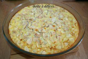 Recette Flan aux poires et jus de poires