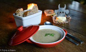Recette Potage crémeux et parfumé en mode cocooning pour lutter contre les premiers froids !