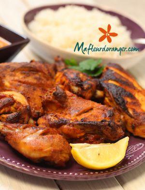 Recette Cuisine indienne : Poulet tandoori et sa sauce épicée