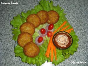 Recette Nuggets de poulet au fromage