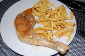 Recette Cuisses de poulet Soja - Multicuiseur