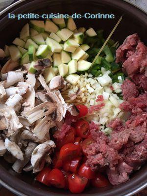 Recette One Pot Pasta champignons courgettes