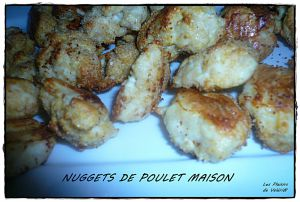 Recette Nuggets de poulet maison