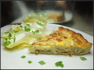 Recette Tarte aux endives lardons et camembert