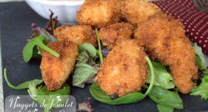 Recette Nugget de poulet a la noix de coco